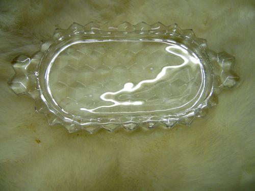 Fostoria American tray only for demi cream and sugar