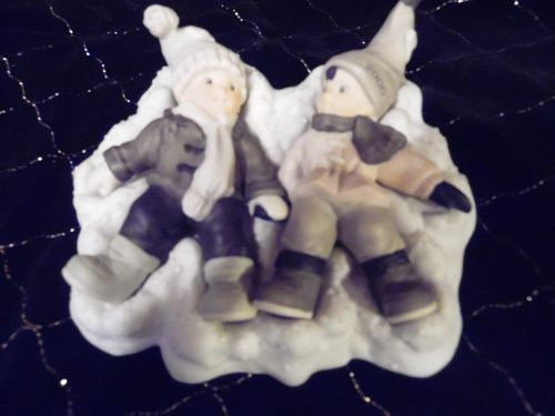 Angels In Disguise Porcelain Figures Limited Edition Christmas #722804