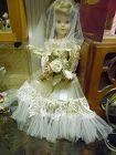 "Vintage American Character bride doll 17.5"""