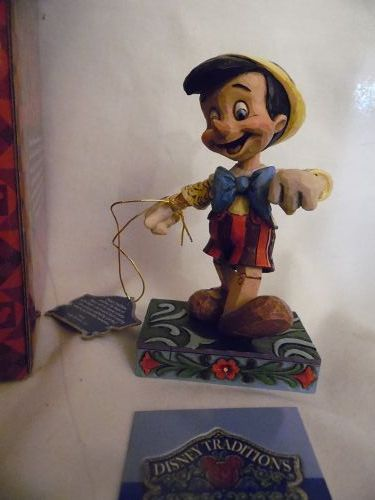 "Jim Shore Disney Traditions ""Lively Step"" Pinocchio Figurine ~ 4010027"