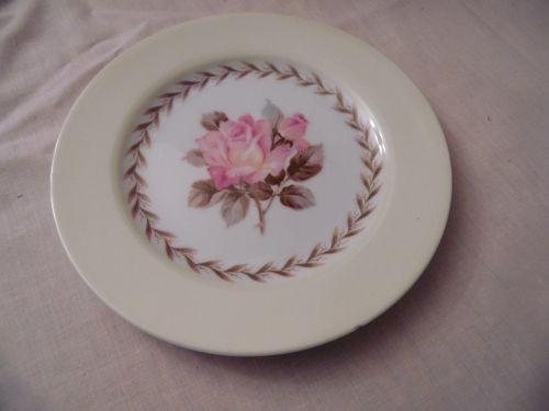 Noritake Nippon Toki Kaisha 7 5/8 salad plate pink rose pattern N212