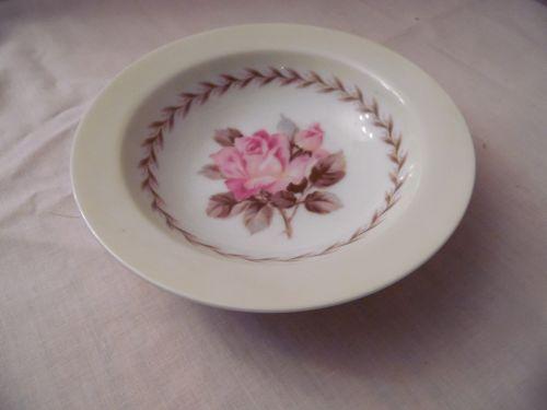 Noritake Nippon Toki Kaisha dessert sauce bowl  pink rose pattern N212