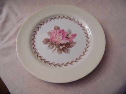 Noritake Nippon Toki Kaisha bread and butter pink rose pattern N212