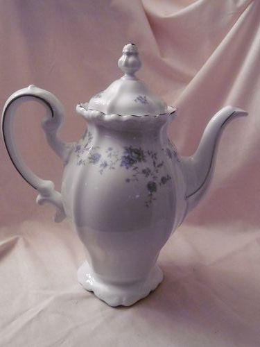 Stunning Johann Haviland Blue Garland coffee pot
