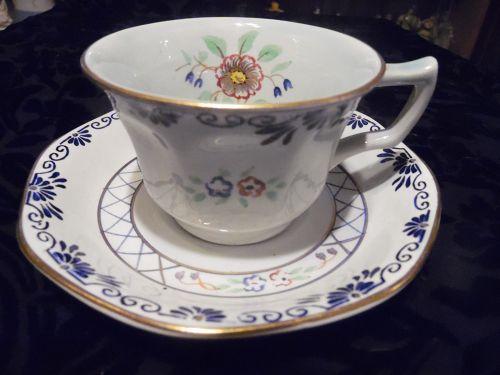 Adams Calyx Ware Tea Cup & Saucer Set 2546