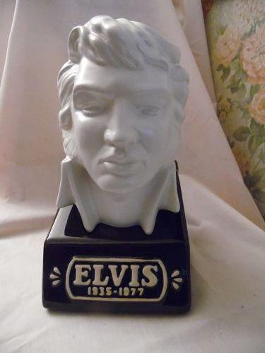 McCormic Elvis Presley Bust decanter