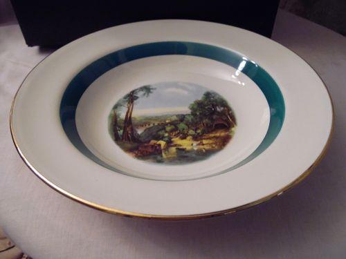 Homer Laughlin Amsterdam rimmed soup bowl