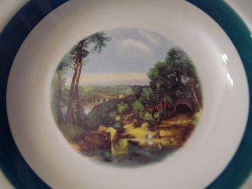 """Homer Laughlin Amsterdam 10 1/4"""" dinner plate"""
