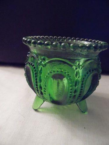 Degenhart Gypsy Pot green toothpick holder
