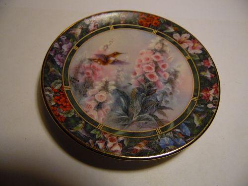 Lena Liu's Hummingbird Treasury mini plate Rufous Hummingbird #5