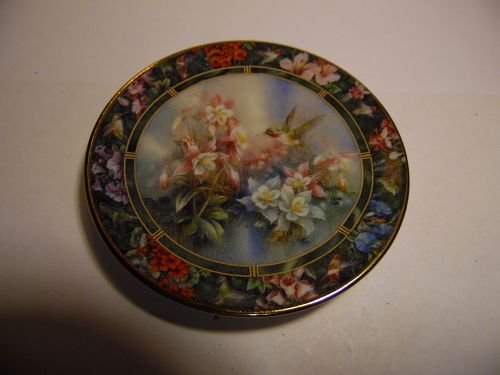 Lena Liu's Hummingbird Treasury mini plate Calloipe Hummingbird #7