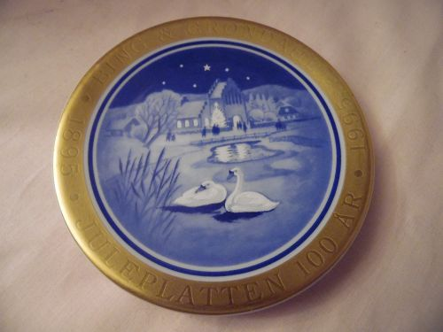 Bing and Grondahl Denmark 100th  Anniversary Edition, Mini Plate  9th