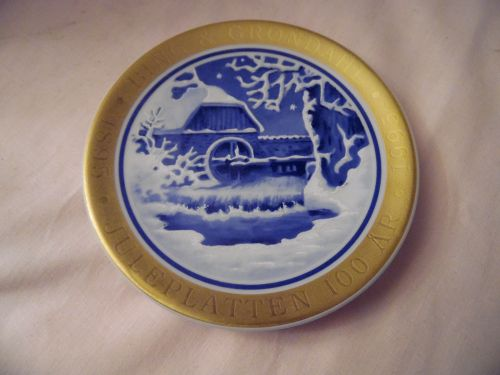 Bing and Grondahl Denmark 100th  Anniversary Edition, Mini Plate 6th