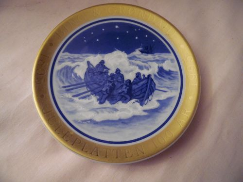 Bing and Grondahl Denmark 100th  Anniversary Edition, Mini Plate  5th