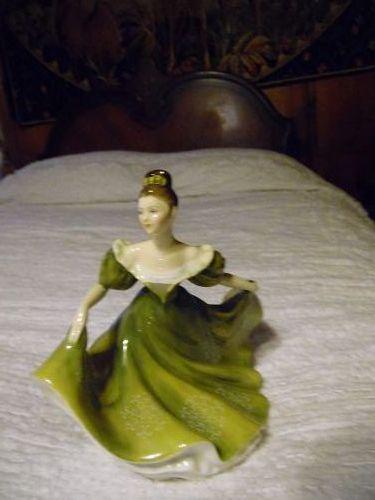 Royal Doulton lady Lynne figurine designer Margaret Davies