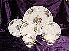 Meissen Black Knight Bavarian dinnerware pieces