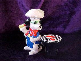 Hot Dog Chef and Grill salt & pepper set