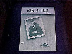 sheet music, Young at heart