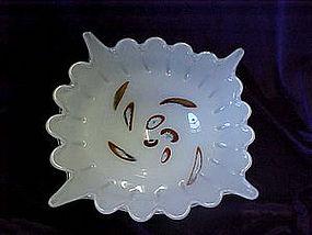 Italian art glass bowl
