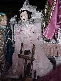 Porcelain Sleeping Beauty Doll