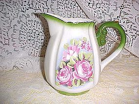 Water Pitcher with roses