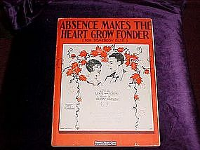 Absence makes the heart grow fonder (for somebody else)