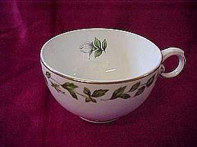 """Hall Superior """"Cameo Rose"""" footed cups"""