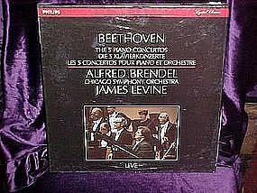 Beethoven The 5 Piano Conchertos Lp set