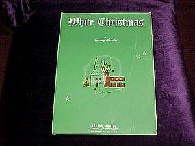 White Christmas, sheet music 1942
