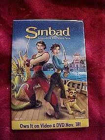 Sinbad, Legend of the seven seas, pin back button