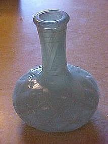 Jadite cologne bottle/ vase