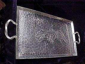 Henry & Miller Large Aluminum serving tray