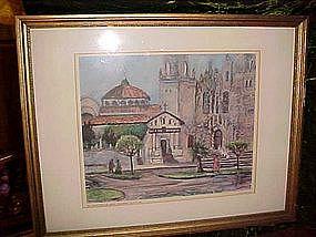 """San Francisco De Assisi-""""Dolores"""", by Bessie Lasky"""