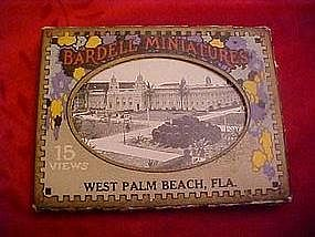 Bardell Miniatures  pic/ post card pack West Palm Beach