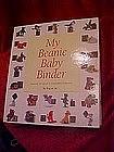 My Beanie Baby Binder, collectors inventory & info