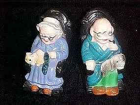 Rocking chair grandma and grandpa shakers