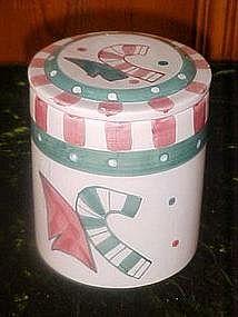 Christmas treat / cookie jar