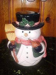 Frosty the Snowman cookie jar
