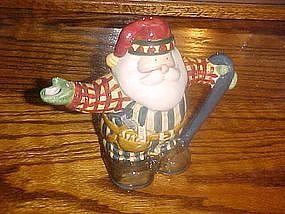 Lumberjack Santa cream pitcher by Sakura