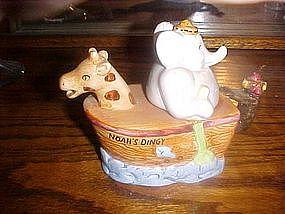 Noah's Ark (Noah's Dingy) cream pitcher