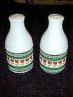 Dutch tulips design, salt and pepper shakers