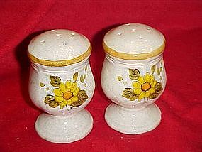 Mikasa Melissa pattern salt and pepper shakers