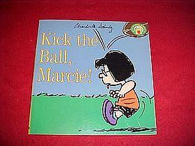 "Peanuts Gang book, ""Kick the ball Marcie"" 1996"