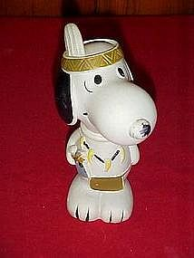 Peanuts camp Snoopy, Snoopy Indian squeaky toy