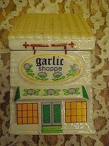 Spice Market Collection, Garlic Shoppe,  spice jar
