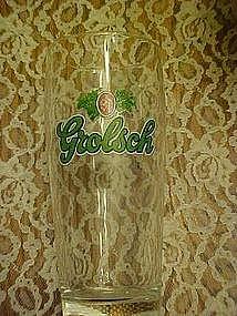 Grolsch  advertising beer glass