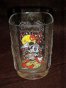 Mickey Mouse millenium  celebration glass, McDonalds