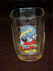 Mickey mouse Millenium  drinking glass, McDonalds