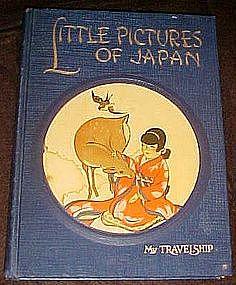 Little Pictures of Japan vintage childrens book