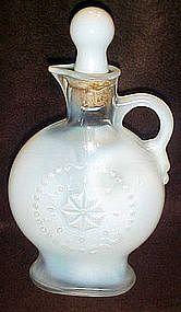 Jim Beam opalescent pitcher decanter D334